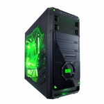 Apevia X-Dreamer 4 Metal Case w/ Side Window - Green
