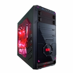 Apevia X-Dreamer 4 Metal Case w/ Side Window - Red