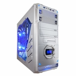 Apevia X-Dreamer 4 Metal Case w/ Side Window - Silver