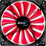 Aerocool Shark 140mm Case Fan - Red
