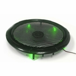 250mm Silent Case Fan - Green LED