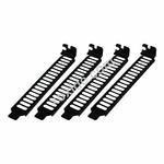 Airslots Slot Covers (4) - Black