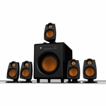 Primal 5.1 Surround Sound System with Wireless Rear Speakers