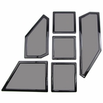 DEMCiflex Magnetic Fan Dust Filter - Custom 6 Piece Set for NZXT Phantom 410