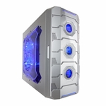 Apevia X-Cruiser3 Metal Mid-Tower Case w/ Side Window - Silver