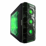 Apevia X-Cruiser3 Metal Mid-Tower Case w/ Side Window - Green