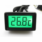 XSPC LCD Temperature Sensor (Green) V2