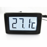 XSPC LCD Temperature Sensor (White) V2