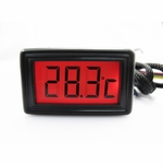 XSPC LCD Temperature Sensor (Red) V2