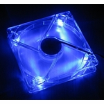 AeroCool 80mm Blue LED Case Fan