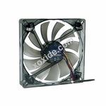 Phobya Nano-G 14 PWM Black Silent Edition 140mm Case Fan