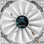 AeroCool Shark 140mm Case Fan - White