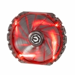 Bitfenix Spectre Pro 230mm LED Case Fan - Red