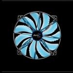 Aerocool Silent Master 200mm Blue LED fan