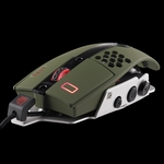 Thermaltake Level 10 M Gaming Mouse - Military Green