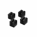 ModMyToys Solid Copper Passive Micro-Heatsink - Black Electro-Plated (4)