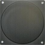 120mm Steel Mesh Fan Grill Black