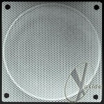 120mm Steel Mesh Fan Grill Silver
