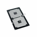 Phobya Radiator Grill Dual (240) - Stripes � Black