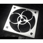 MNPCTech Bio-Hazard Machined Aluminum Fan Grill