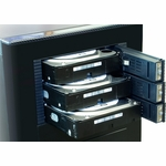 Kingwin SATA Rack (3 drives/2 bays)