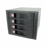 Kingwin SATA Rack (4 drives/3 bays)