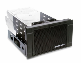 Evercool Armor HDD Cage - Black