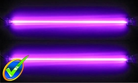 12in Dual UV Cold Cathode Kit