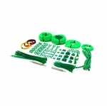 mod/smart Professional System Sleeving Kit - UV Green