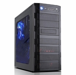 Modtek L33T Case Series - X812 Full Window PC Case