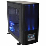 Modtek L33T Case Series - XP2S PC Case w/ LCD Panel