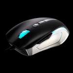 Thermaltake Black Element Gaming Mouse - Combat White