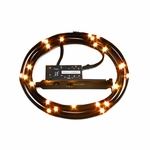 NZXT Premium Sleeved LED Kit (2 meter) - Orange