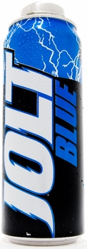 Jolt Blue Raspberry CX2- 16oz Caffeinated Cola Drink