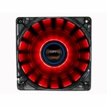 LEPA Chopper 120mm Cycling LED Case Fan - Red