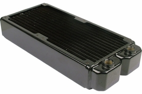 Black Ice Xtreme II 240mm Radiator (3/8) - Black