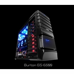 Sentey - GS-6500 Burton Full Tower Case (Black)