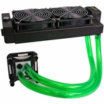 H2O-X20 Edge HD Series Water Cooling Kit - Dual 120mm White (Intel)