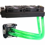 H2O-X20 Edge HD Series Water Cooling Kit - Dual 120mm Black (Intel)