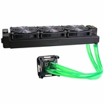 H2O-X20 Edge HD Series Water Cooling Kit - Triple 120mm Black (AMD)