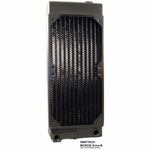 Swiftech MCR220-DRIVE-B 2x120 Radiator w/ Integrated Pump Housing & Reservoir (no pump)