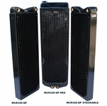 Swiftech MCR320-QP 3x120 Radiator w/ Built-in Reservoir