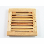 Wooden 120mm Fan Grill