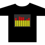 Sound-Activated EQ T-Shirt - Large
