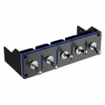 Lamptron Hummer 5-port Military Switch Baybus - Blue