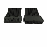 "Gelid Solutons 12"" 24 Pin (EPS) Sleeved Cable - Black"