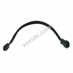 Phobya Adapter 3Pin (12V) to 3Pin (5V) 20cm - Black