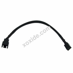 Phobya Adapter 3Pin (12V) to 3Pin (9V) 20cm - Black