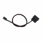 ModMyToys 4-Pin Male to 3-Pin Female Cable Adapter � 12� � Sleeved Black