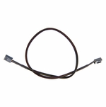 "ModMyToys 3-Pin Female to 3-Pin Female Cable Adapter - 18"" - Sleeved Black"